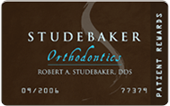 studebaker orthodontics rewards card